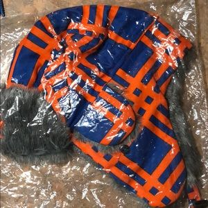 New York Mets winter hat